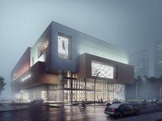 Qingdao Lanhai New Harbour City J Life | Aedas | Architecture | Retail | Qingdao, PRC