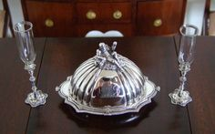 Pete Acquisto, IGMA fellow - sterling silver platter with domes lid, limited edition of 300