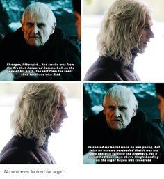 Maester Aemon Targaryen & Rhaegar Targaryen (GoT)