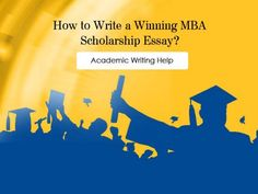 If you're heading for scholarship in any prestigious business management school, you have got to acquire the skills to make a killer impression on the commission. Follow simple steps to write 100% error-free scholarship essay.
