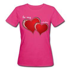 Valentinstag · 2 Herzen · Druck: zentriert » « · Verschiedene Farben · Verschiedene Artikel