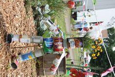 5 days to go… Recycled Garden Art Contest Upcycled tin man from cans Recycled Garden Art, Garden Crafts, Garden Ideas, Amazing Gardens, Beautiful Gardens, Tin Can Man, Plasma Cutter Art, Raised Planter, Modern Landscaping