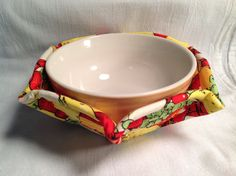 Microwave Bowl Cozy Pattern 1 Sewing Pattern and by belairevillage