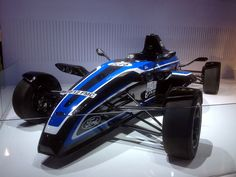 STREET LEGAL: As usual Ford used CES to show off a number of new vehicles and technologies, including this single-seat, open-wheel Formula One EcoBoost Road Car