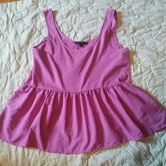 American Eagle Loose flowy top light purple pinkish color American Eagle Outfitters Tops Tank Tops