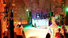 ALMA PROJECT @ Castello di Vincigliata - white dancefloor - Eva light - dj console - moving heads - 344