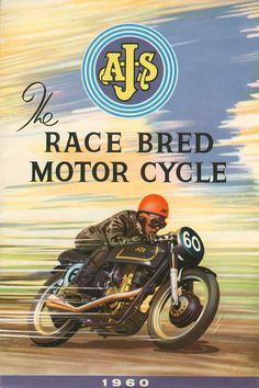 Classic BSA Motorcycle Poster reproduced from by classicmotorads