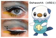Pokemakeup 501 Oshwatt by ~nazzara on deviant art