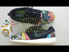 491c04114bc Star Wars Roshe Run Custom (Timelapse)