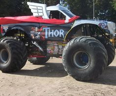Thor monster truck...REALLY cool! :)