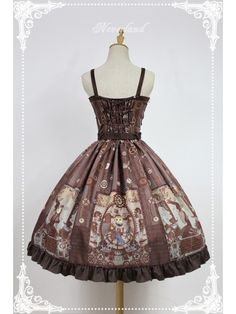 Steampunk Cat Double Breasted Jumperskirt