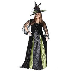Plus Size Witch Costumes | Witches Halloween Costume for an Adult