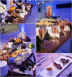 A dramatic winter wedding design at the Milwaukee Art Museum by Dynamic Events by David Caruso, photo by Front Room Photography