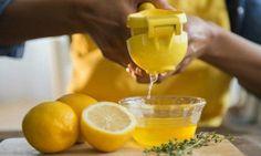 Zitronensaft zur Entgiftung