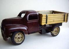 1940s WIND UP TIN BAKELITE RARE G GREPPERT KELCH BULK TRUCK
