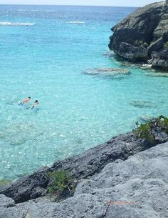 The waters around the island are crystal clear and are dotted with picturesque rock  formations.  Accordingly, swimming and snorkeling are popular.    Over the years, many ships have been wrecked on the reefs that surround Bermuda.  These are often of interest to scuba divers.