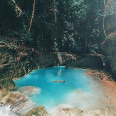 """82.2k Likes, 1,379 Comments - JACK MORRIS (@doyoutravel) on Instagram: """"Throwing back to last summer when we found this natural jungle pool in the Philippines ☘ Edited…"""""""