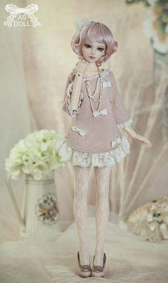 Thea school version AS Angell Studio Doll 1/4 42cm SD BJD Dollfie Girl Kid