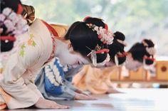 Geisha in Gion.