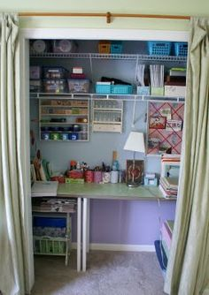 So excited to set up my scrapbook station in a closet TOMORROW :)