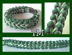 Spearmint Paracord Bracelet by ThrowinWristicuffs on Etsy, $7.00