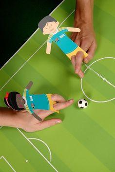 Finger puppet soccer game. Facebook: facebook.com/FloridaYouthSoccer Twitter: @Fysa Ibrahim Ibrahim Ibrahim Ibrahim Soccer Website: www.fysa.com