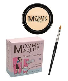Look at this Mommy Makeup Bright Eyed Light Mommy's Little Helper Concealer & Brush on #zulily today!