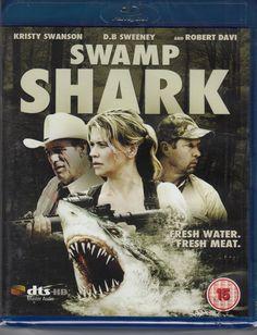 Swamp Shark Blu Ray Region B NEW/SEALED FASTPOST