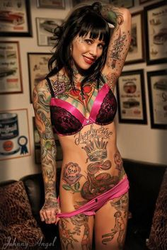 tattoos are hot