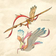 Mega Pidgeot: Spear