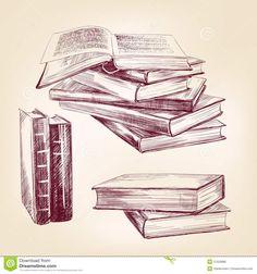 book vintage vector - Google Search