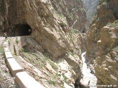 Cañon del Pato, en la cordillera de los Andes, Huaraz-