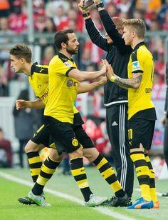 Gonzalo Castro and Marco Reus - Borussia Dortmund