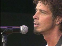 Chris Cornell, Short Hair, Candid, Stage