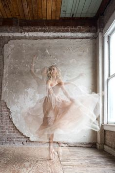 Ballerina Inspired Wedding Ideas. Ballet beautie, sur les pointes !
