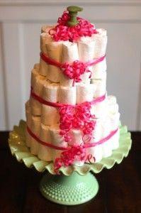 DIY: How to Make a Diaper Cake