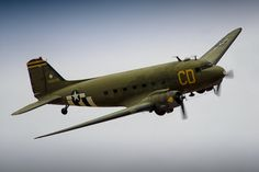 """With today being the 73rd Anniversary of D-Day, it seemed fitting to upload the following photo.  """"Betsy's Biscuit Bomber,"""" a beautiful Douglas C-47B Skytrain, struttin' her stuff during the 2017 Planes of Fame Air Museum's Airshow.  #Nikon #D7000 #Aviation #Photography #AvGeek #Douglas #C47B #Skytrain #BetsysBiscuitBomber #PlanesofFame #AirShow #Chino #California #WeSupportPlanesOfFame  ottosenphotography.com 