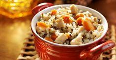 Recette de Riz minceur au poulet et carottes à la sauce soja. Facile et rapide à réaliser, goûteuse et diététique.