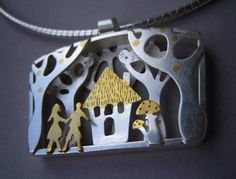 Lucy Palmer - Hansel and Gretel Pendant