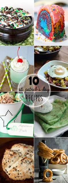 St. Patrick's Day is one of my favorite holidays. I just love the food, so I've rounded up some of theTop St Patrick's Day Recipes.