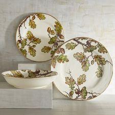 Autumn Oak Dinnerware