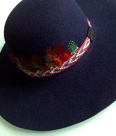 Chapeau MaNoLu plume