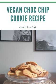 I could never find cookies I could eat in store until I discovered this recipe for super easy vegan cookies. #vegancookies #dairyfreecookies #veganbiscuits #dairyfreebaking #veganbaking Vegan Chocolate Chip Cookie Recipe, Easy Vegan Cookies, Chocolate Chip Cookies Ingredients, Dairy Free Cookies, Vegan Food, Vegan Recipes, Dairy Free Baking, Vegan Biscuits, Chips Recipe