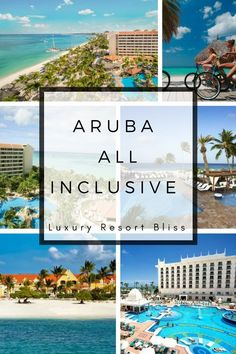 All-Inclusive Resorts in Aruba Caribbean All Inclusive, All Inclusive Family Resorts, Caribbean Vacations, Vacation Destinations, Dream Vacations, Vacation Spots, Vacation Ideas, Cabo San Lucas, Cancun