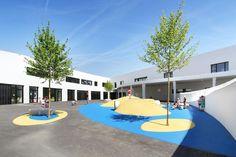 School Complex Les Perséides,Courtesy of Atelier REC architecture