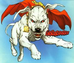 Krypto... Dog of Steel?