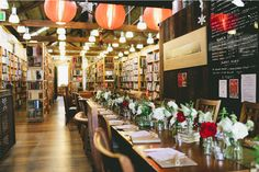 Berkelouw Books, Sydney, Australia - 19 Places to Get Married for Book Lovers