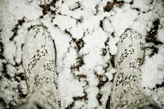 These boots are made for snow