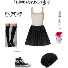 Nerd Style by ailinxbieber on Polyvore featuring Vince, Mulberry, Plush, Converse and Justin Bieber