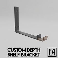 Industrial Steel Shelf Bracket No.8 Customisable Depth